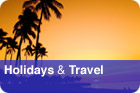 Holidays &amp; Travel